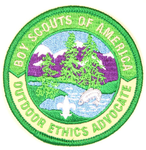 Leave No Trace Outdoor Ethics Advocate Patch