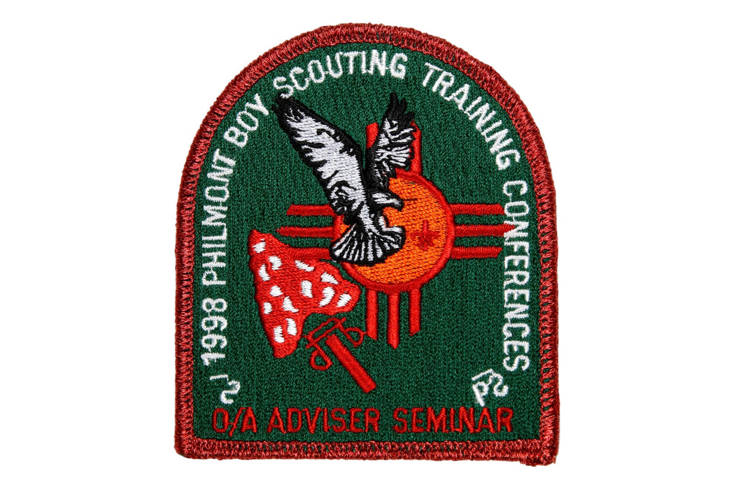 1998 Philmont OA Adviser Seminar Patch