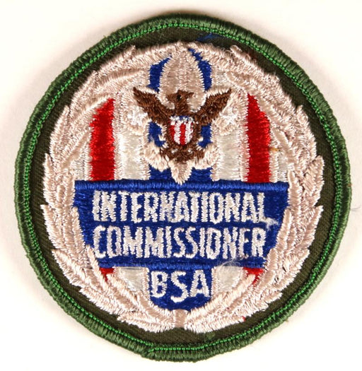 International Commissioner Patch FAKE