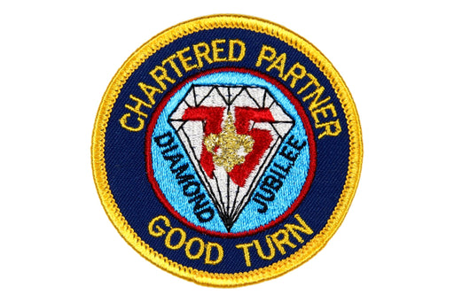 Chartered Partner Good Turn Patch Paper Back