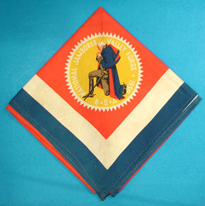 1950 NJ Neckerchief Silk