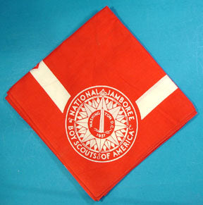 1937 NJ Neckerchief Red
