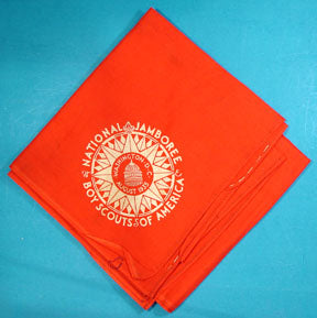 1935 NJ Neckerchief Red