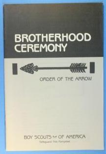 Brotherhood Ceremony Pamphlet