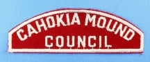 Cahokia Mound Council Red and White Council Strip