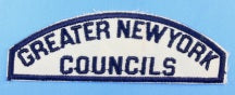 Greater New York Councils White and Blue Council Strip