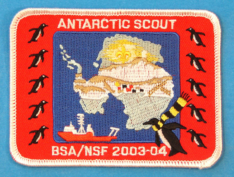 Antarctic Scout Patch 2003-04