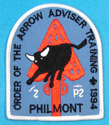 1994 Philmont Training Center Order of the Arrow Adviser Training Patch