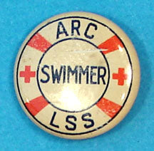 Pin Back Swimmer