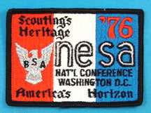 1976 NESA National Conference Patch