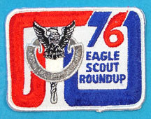 1976 NESA Eagle Scout Roundup Patch