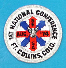 1974 NESA National Conference Patch