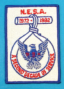 1982 NESA National Conference Patch