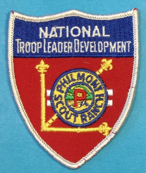 National Troop Leader Development Philmont Patch