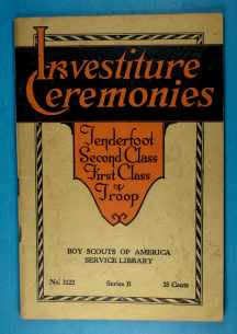 Service Library - Investiture Ceremonies
