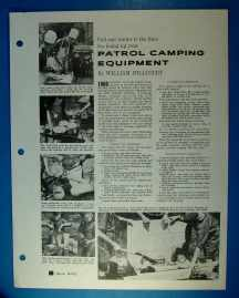 Patrol Camping Equipment BL-4