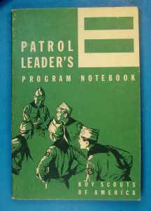 Patrol Leader's Program Notebook 1959