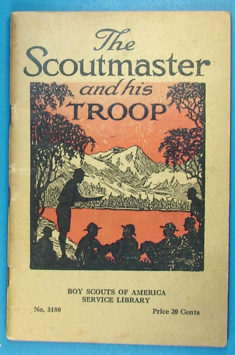Service Library - The Scoutmaster and His Troop