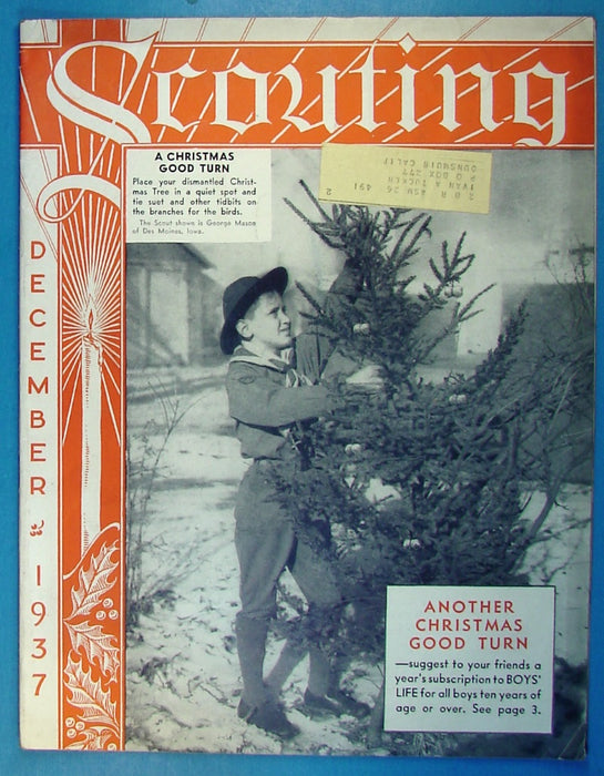 Scouting Magazine 1937 December