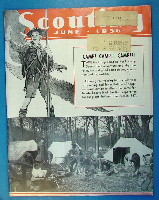 Scouting Magazine 1936 June