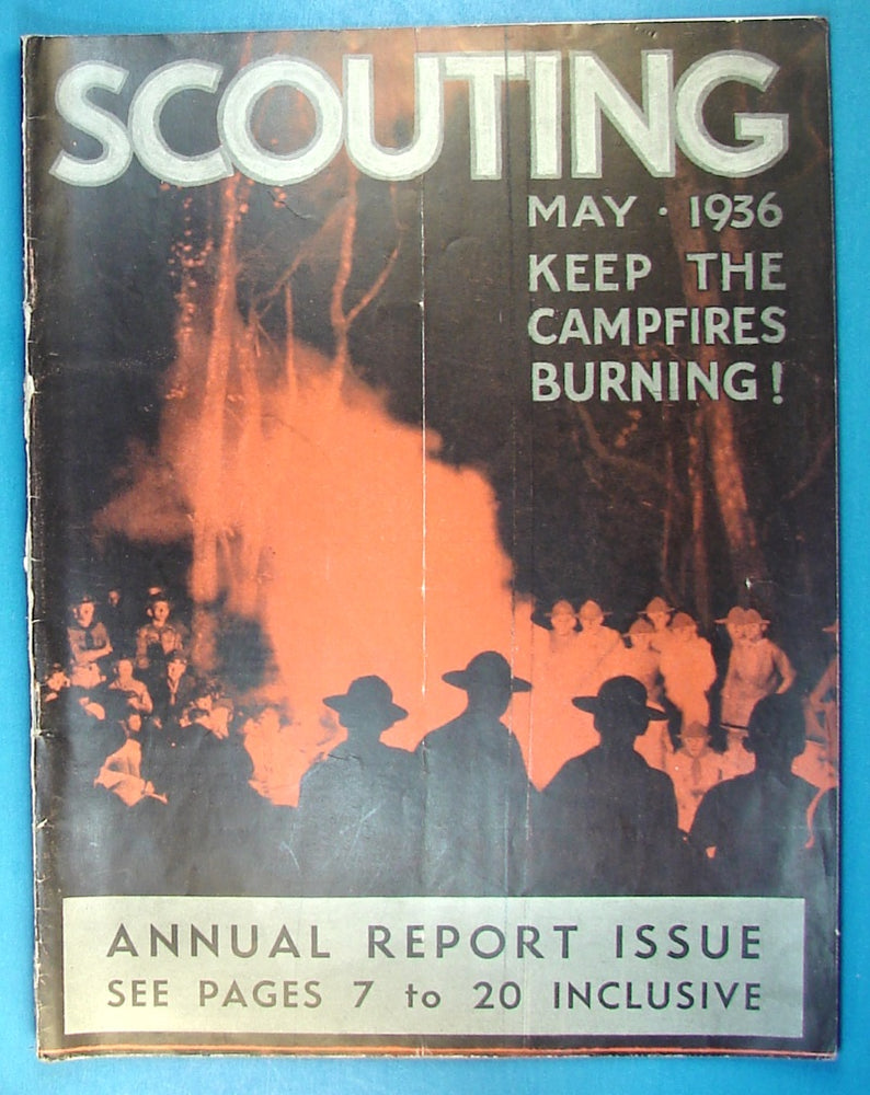 Scouting Magazine 1936 May