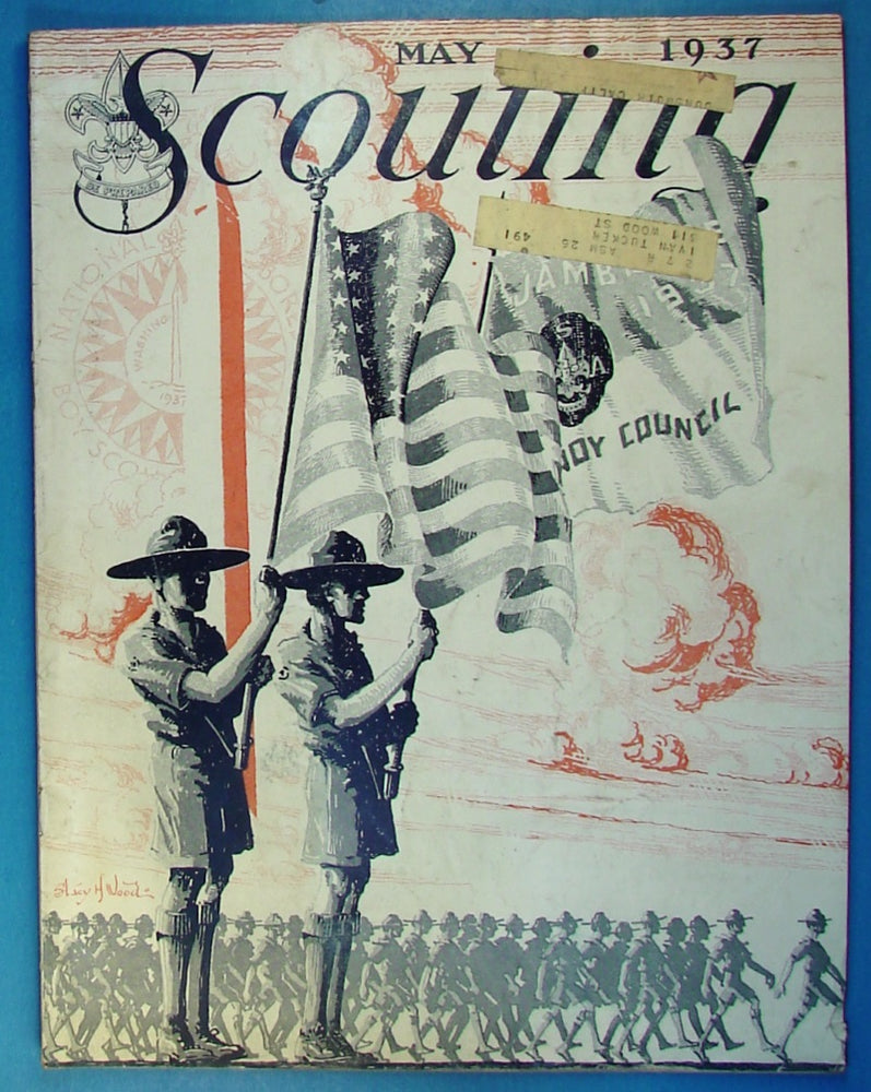 Scouting Magazine 1937 May