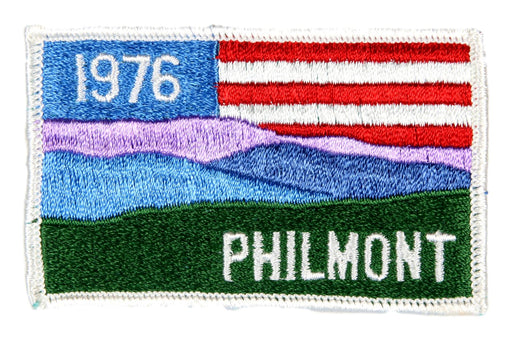 1976 Philmont Flag Patch