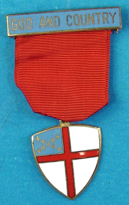 God and Country Religious Medal