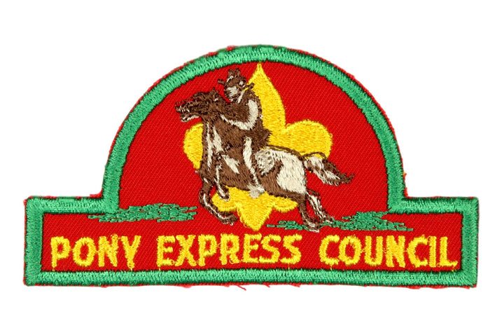 Pony Express CP Gold Lettering