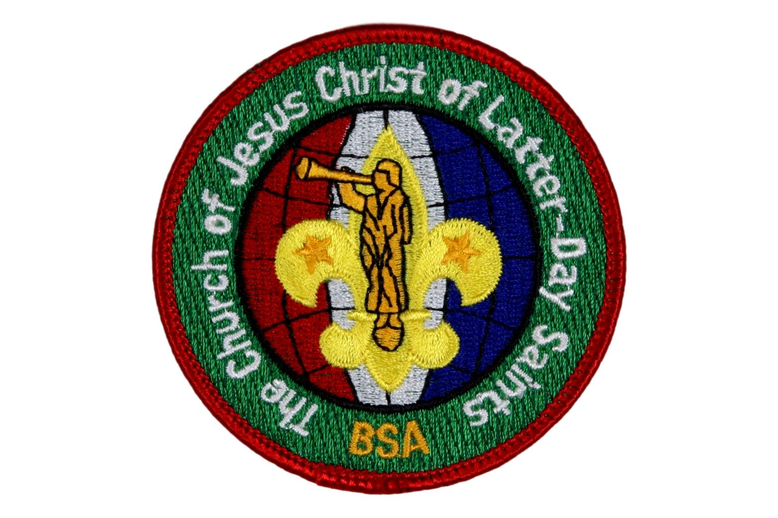 LDS Scouting Patch BSA