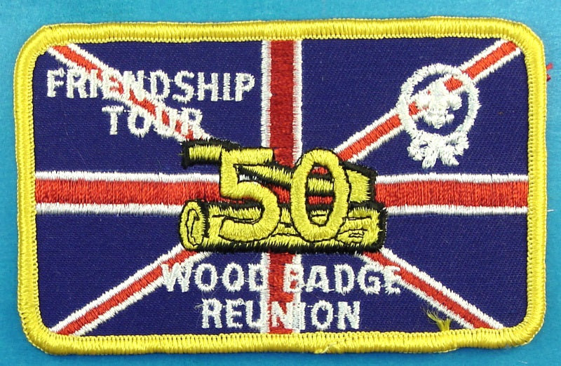 Woodbadge 50th Friendship Tour Patch