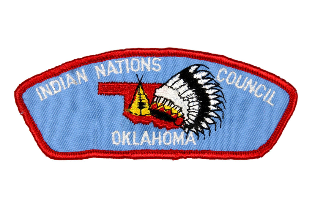 Indian Nations CSP T-1 Plastic/Gauze Back
