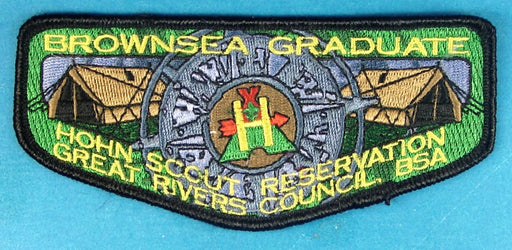 Brown Sea Graduate Flap