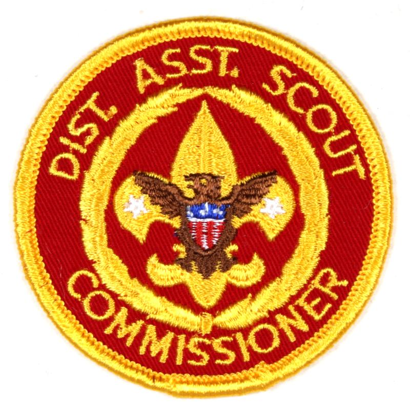 Dist. Asst. Cub Scout Commissioner Patch