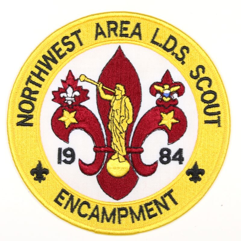 1984 Northwest Area LDS Encampment Jacket Patch