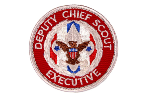 Deputy Chief Scout Executive Patch