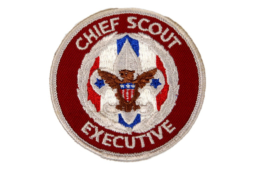 Chief Scout Executive Patch