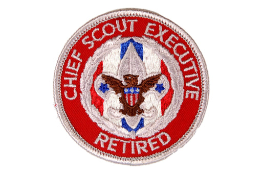 Chief Scout Executive Retired Patch