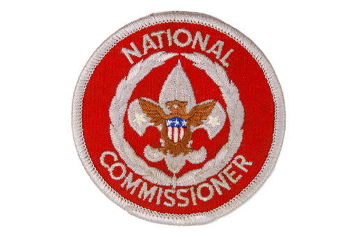 National Commissioner Patch