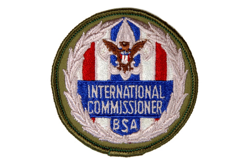 International Commissioner Patch