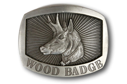 Antelope Belt Buckle
