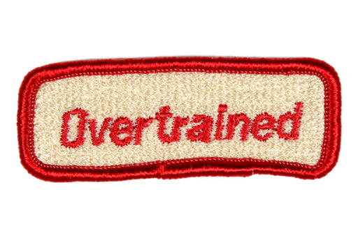 Overtrained Trained Strip Red