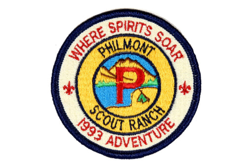 1993 Philmont Adventure Where Spirits Soar