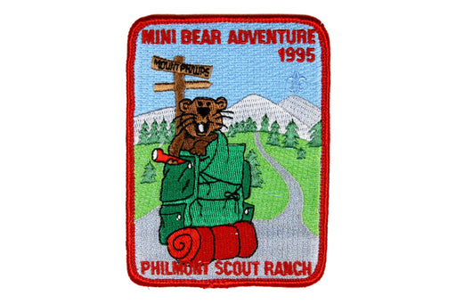 1995 Philmont Mini Bear Adventure Patch