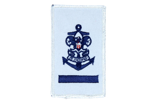 Sea Scout Apprentice Patch Rolled Edge