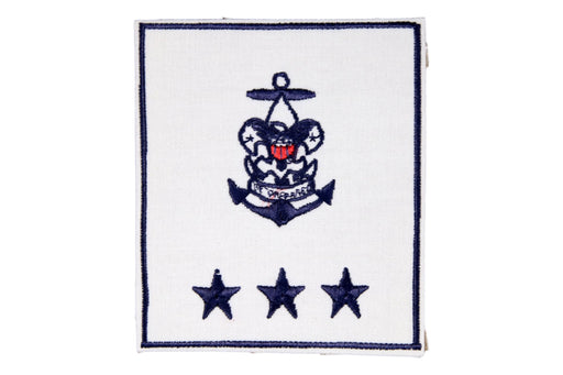 Sea Scout Regional Professional Staff on White Plastic Back