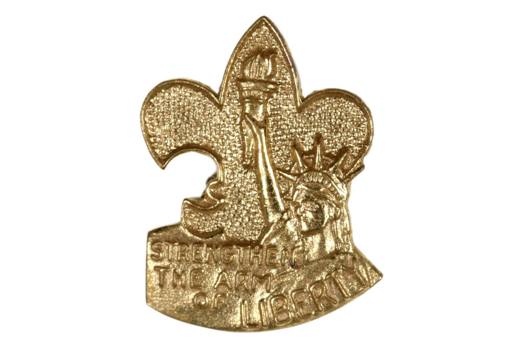 Strengthen the Arm of Liberty Pin