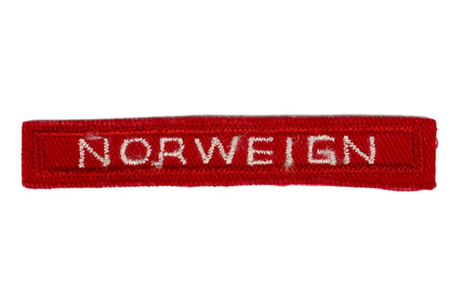 Norwegian Interpreter Strip Red