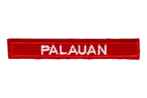 Palauan Interpreter Strip Red