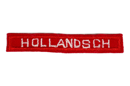 Hollandsch Interpreter Strip Red